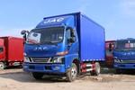 江淮 骏铃V6 130马力 4.12米单排厢式轻卡(HFC5043XXYP71K1C2V)图片