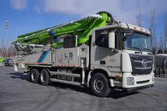 福田 雷萨L9 400马力 6X4 52米混凝土泵车(欧曼GTL底盘)
