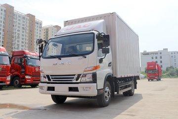 江淮 骏铃V6 152马力 4X2 4.12米单排厢式轻卡(HFC5043XXYP71K3C2V)
