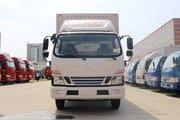 江淮 骏铃V6 130马力 3.89米排半厢式轻卡(HFC5043XXYP91K1C2V-S)