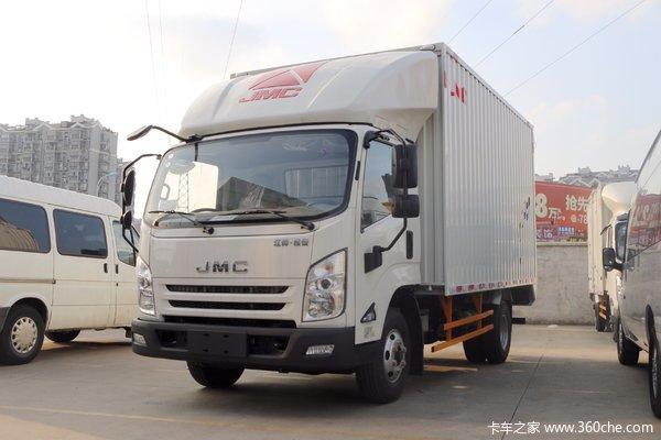 江铃 凯锐800 154马力 4.08米单排厢式载货车
