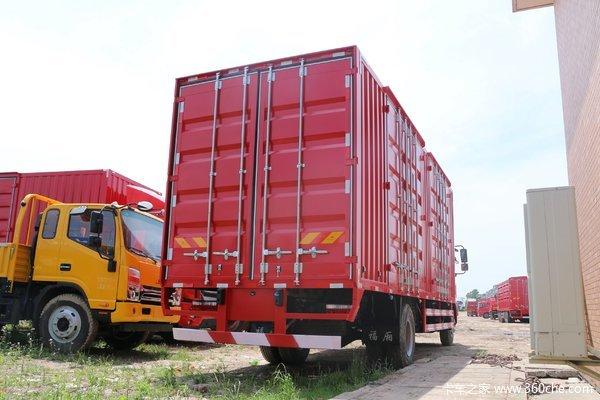 格尔发A5L潍柴160马力7米8载货13.88万起