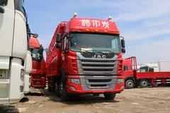 江淮 格尔发K3X重卡 240马力 6X2 9.5米仓栅式载货车(HFC5251CCYP2K3D54S1V) 卡车图片
