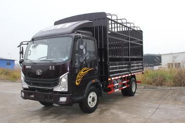 中国重汽 豪曼H3 130马力 4.2米单排仓栅式轻卡(ZZ5048CCYG17EB1)图片
