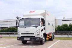 江铃 凯锐重载金刚 154马力 4.08米单排厢式轻卡(黄牌)(JX5097XXYXG2) 卡车图片