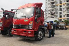 重汽王牌 7系 156马力 4X2 5.8米排半仓栅式轻卡(CDW5161CCYA1R5) 卡车图片