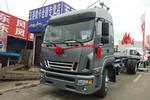 江淮 骏铃V9L 190马力 6.8米排半栏板载货车(HFC1161P3K2A50S5V)图片