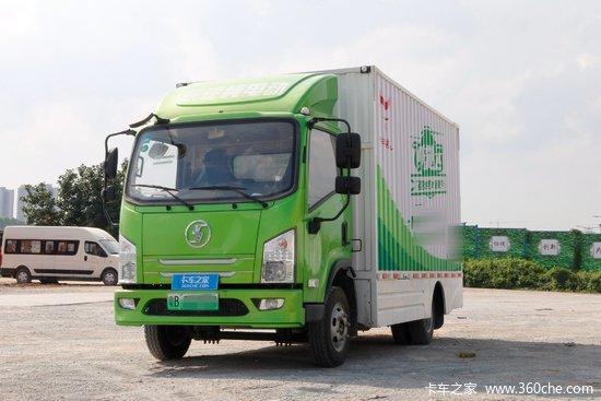 陕汽商用车 轩德E9 4.5T 4.1米单排纯电动厢式轻卡