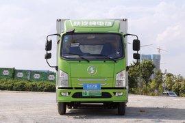 陕汽商用车 轩德E9 4.5T 4.1米单排纯电动厢式轻卡96.77kWh