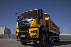 江铃重汽 威龙重卡 390马力 8X4 7.8米自卸车(SXQ3310J5A3D5A)