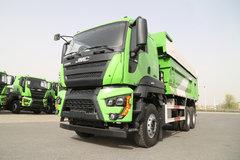 江铃重汽 威龙重卡 390马力 6X4 5.4米渣土自卸车(SXQ3250J4A3D5A)