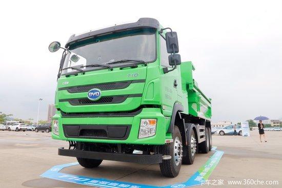 比亚迪T10 31吨 8X4 纯电动自卸车