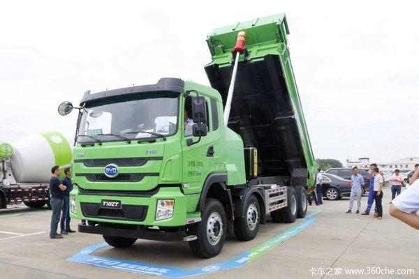 比亚迪T10ZT 31T 8X4 5.6米纯电动自卸车(BYD3310EH9BEV)435kWh