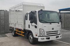 骐铃汽车 H300 116马力 3.645米排半仓栅式轻卡(JML5041CCYCD5) 卡车图片