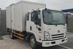 骐铃汽车 H300 116马力 3.795米排半厢式轻卡(JML5041XXYCD5) 卡车图片