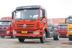 大运 风驰中卡 160马力 4X2 6.75米排半仓栅式载货车(DYQ5180CCYD5AB)