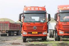 大运 风驰重卡 240马力 6X2 9.6米仓栅式载货车(DYQ5250CCYD5CB) 卡车图片