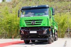 上汽红岩 新金刚M500 336马力 8X4 5.6米渣土自卸车(CQ3316HTWG276) 卡车图片