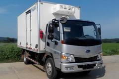 开瑞绿卡 城配版 129马力 4.1米冷藏车(中体)(SQR5042XLCH02D)