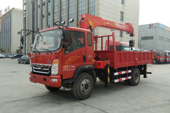 中国重汽 豪曼H3 129马力 4X2 随车吊(宽体)(ZZ5148JSQF17EB0)