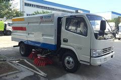 湖北程力 130马力 4X2 东风多利卡D6底盘洗扫车(CLW5070TSLD5)
