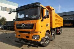 陕汽重卡 德龙X3000 430马力 8X4 8.6米自卸车(SX33105C486B) 卡车图片