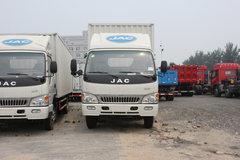 江淮 威铃 109马力 4X2 5.2米单排厢式载货车(HFC5061XXYKR1T) 卡车图片