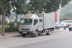 郑州日产 凯普斯达 140马力 3.1米双排厢式轻卡(长轴) 卡车图片
