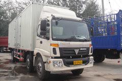 福田 欧曼CTX 5系重卡 185马力 6X2 8.6米厢式载货车(BJ5253VMCHH-1) 卡车图片