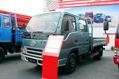 一汽解放 501-J系列 103马力 3360轴距双排栏板轻卡 卡车图片