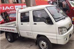 江淮 康铃X3 1.3L 87马力 汽油 2.5米双排栏板微卡(后双胎)(HFC1030RW6E2B7V) 卡车图片