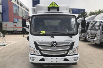 福田 欧马可S3系 131马力 4X2 4.165米单排厢式气瓶运输车(BJ5049XRQ-A2)图片