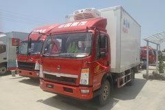 重汽HOWO 统帅 154马力 4X2 4.1米冷藏车(重汽10档)(ZZ5047XLCF341CE145)
