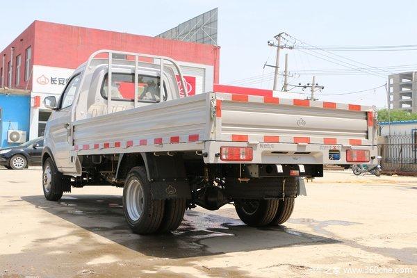 恭喜胡先生 喜提跨越王X3/3.3米载货车