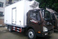 解放 J6F 150马力 4X2 4.13米冷藏车(CA5046XLCP40K2L1E5A84)