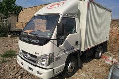 福田时代 小卡之星 88马力 3.3米单排厢式微卡(BJ5032XXY-BK) 卡车图片