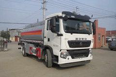 中国重汽 HOWO T5G 210马力 4X2 运油车(醒狮牌)(SLS5181GJYZ5)