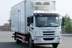 青岛解放 龙V 220马力 4X2 6.75米冷藏车(CA5189XLCPK2L2E5A80)
