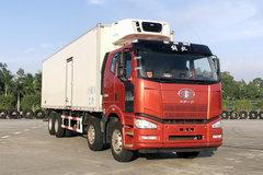 一汽解放 J6M 350马力 8X4 9.48米冷藏车(CA5310XLCP63K1L6T4E5)