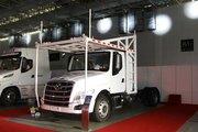 东风柳汽 乘龙T5重卡 280马力 4X2车辆运输长头牵引车(LZ5180TBQT5AB)