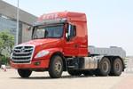 东风柳汽 乘龙T5重卡 430马力 6X4长头牵引车(LZ4250T5DB)