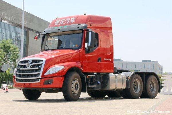 东风柳汽 乘龙T5重卡 430马力 6X4长头牵引车