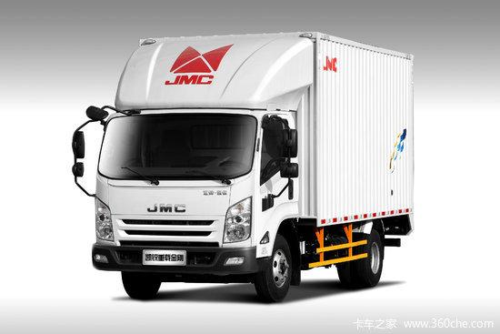 江铃 凯锐重载金刚 豪华款 154马力 4.08米单排厢式轻卡(JX5097XXYXG2)