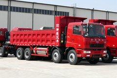 华菱重卡 轻量化版 运输型 350马力 8X4 6.7米LNG自卸车(HN3310NGX38C2M5)