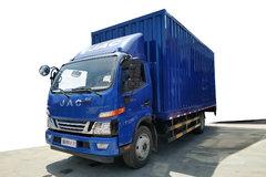 江淮 骏铃V7 156马力 4X2 5.2米单排厢式载货车(HFC5091XXYP91K1C6V) 卡车图片