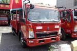 中国重汽HOWO 悍将 170马力 4.15米单排翼开启厢式轻卡(ZZ5047XYKG3314E145)图片