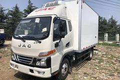 江淮 骏铃V3 109马力 3.7米排半冷藏车(HFC5041XLCP93K1C2V)