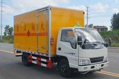 江铃 顺达窄体 116马力 4.13米易燃液体厢式运输车(多士星牌)(JHW5040XRYJX)