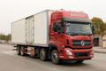 东风商用车 天龙 350马力 8X4 8.4米冷藏车(DFH5311XLCAX1V)图片