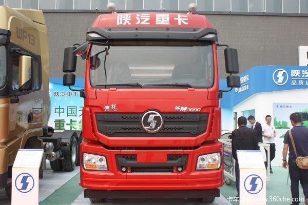 陕汽重卡 德龙新M3000 380马力 6X4 CNG危险品牵引车